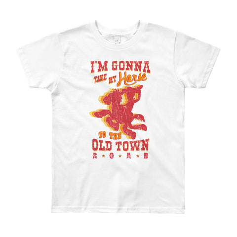Old Town Road - Youth T-Shirt (8yrs-10yrs)