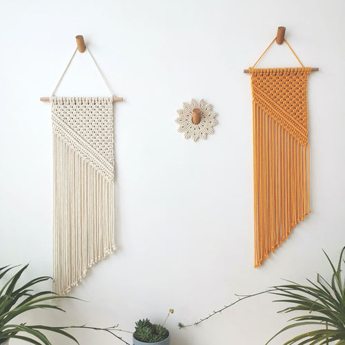 Macrame Wall Hanging Pendant Macrame Wall Tapestry Home Decor