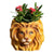 Lion Planter Cute Animal Shape Succulent Plant Pot Modern Handmade Plant Container Succulent Planter