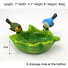 Lovely Couple Birds Shape Resin Succulent Planter Cactus Container Indoor Succulent Planter