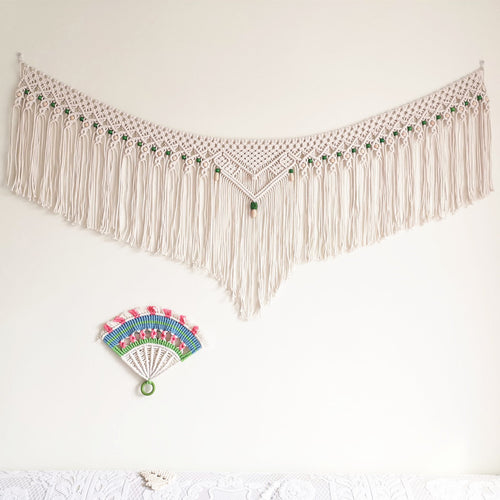Macrame Wall Hanging Macrame Tapestry Wall Decor for Apartment Bedroom Living Room