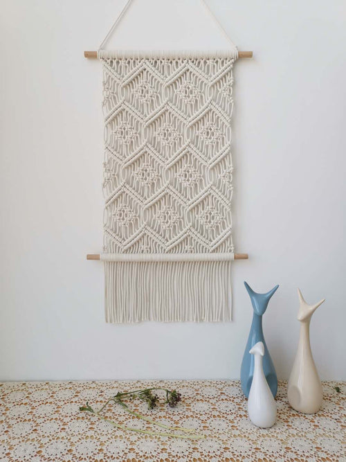 Macrame Wall Hanging Tapestry Modern Macrame Art Home Decor