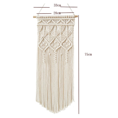 Handmade Macrame Wall Hanging Tapestry Macrame Wall Pendant Home Decor