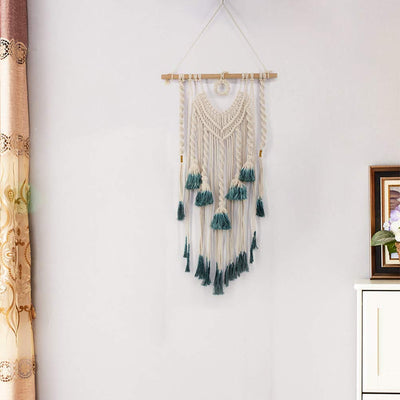 Custom Made Wall Hanging Macrame Tapestry Wall Art