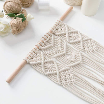 Macrame Plant Hanger Triple Wall Hanging Planter 30 inches