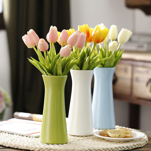 Ceramic Flower Pot Artificial Flower Vase Flower Arranging Pot