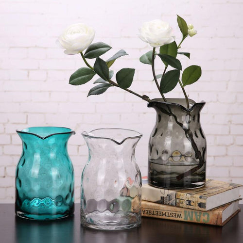 Decorative Glass Flower Vase Glass Plant Pot Flower Arrangement Vase