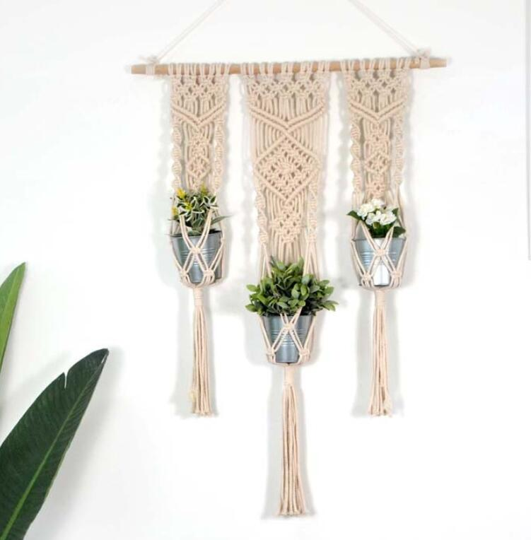 Wall Hanging Macrame Plant Hangers Macrame Plant Baskets