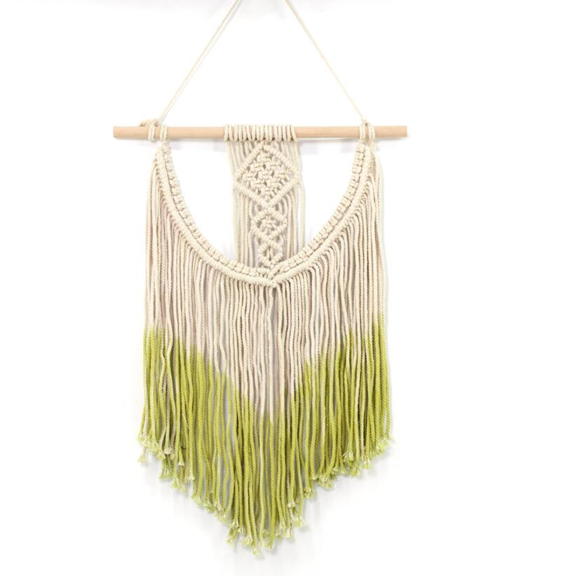Macrame Wall Hanging Tapestry Handmade Woven Wall Art