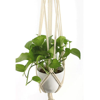 Indoor Outdoor Macrame Hanging Plant Holder Macrame Plant Hanger