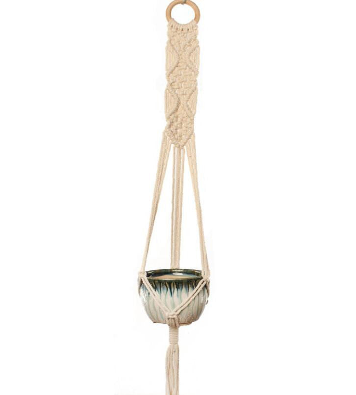 Pack of 4 Styles Macrame Plant Hangers Hanging Plant Holders