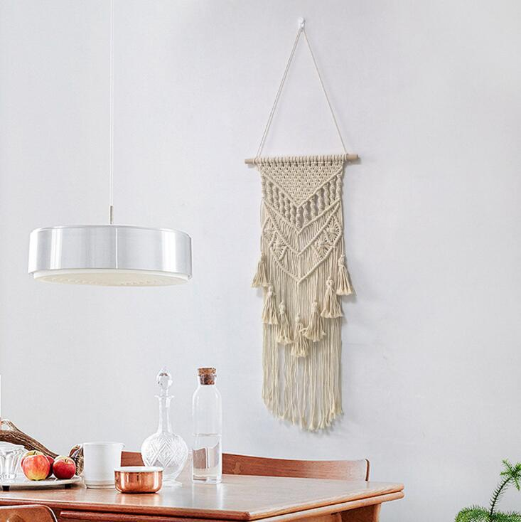 100% Cotton Macrame Wall Hanging Handicraft Wall Decor