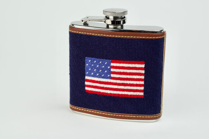 Needlepoint Flasks