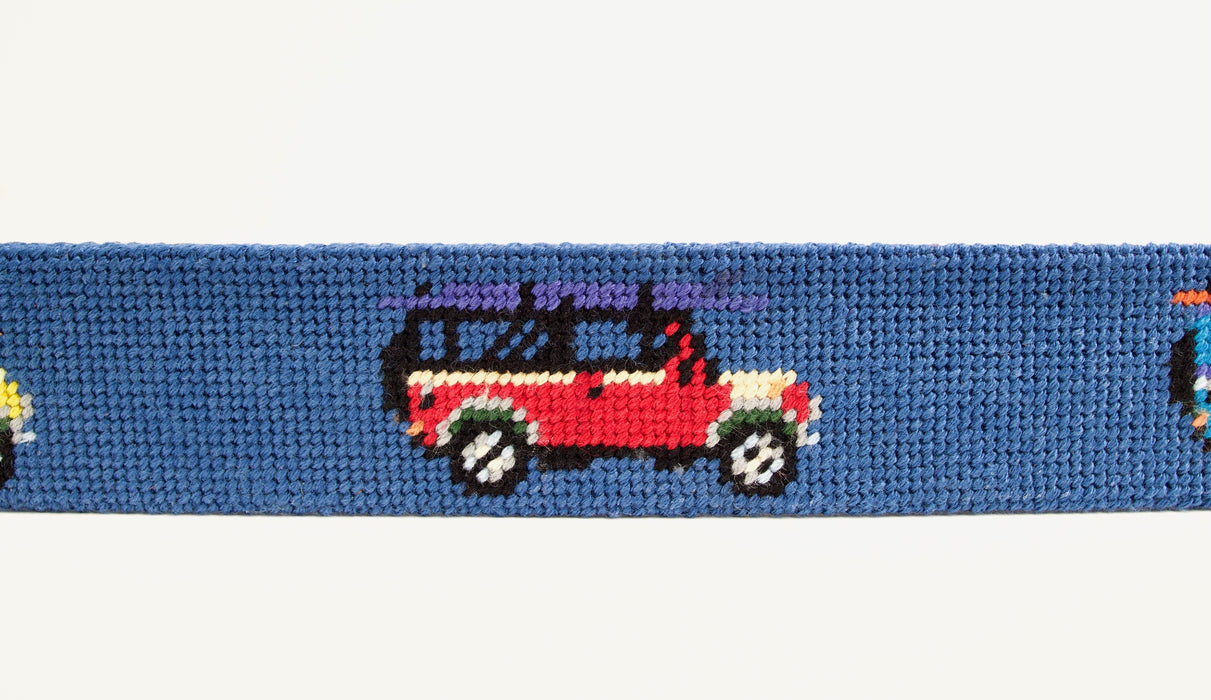 All Terrain Needlepoint Belt