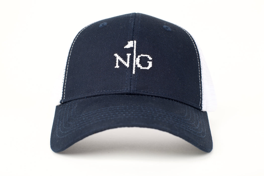 NG Needlepoint Trucker Hat