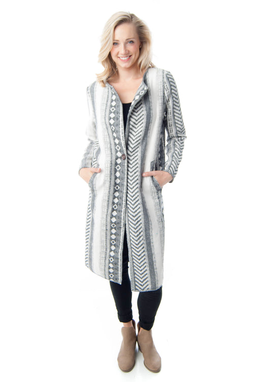 Anama Aztec Duster Coat