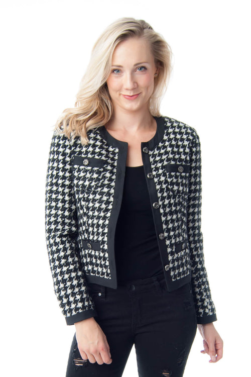 Hounds Tooth Chanel-like Jacket