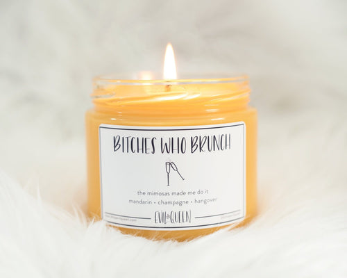 Evil Queen Candle: Bitches Who Brunch
