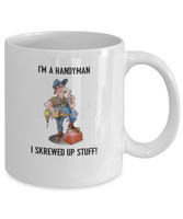 To my handyman-with love-mug