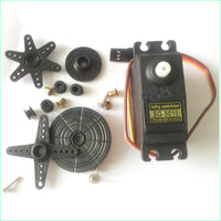 5set/lot lofty ambition 39G Servo SG5010 With Parts Off Road Touring For RC Car Truck Helicopter Boat toys