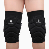 2X Outdoor Extreme Sports knee pads Protect Football Cycling Knee Protector#XTJ