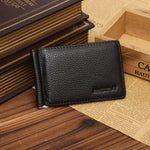 Ultra Slim Wallet Men's PU Leather Bifold Wallet ID Credit Card Holder
