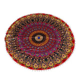 Bohemian Meditation Pillow Cover