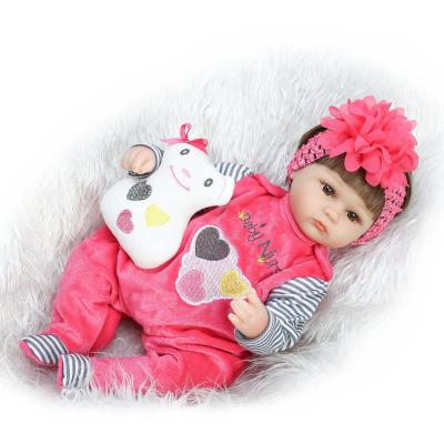 "Realtouch 16"" 40cm Silicone Baby Doll newborn"
