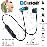 Magnetic Bluetooth Earphone Headset with Build-in Mic