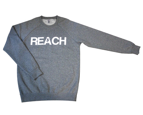Athletic Grey REACH/ESCAPE Sweatshirt