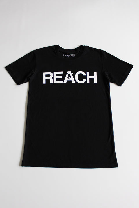 Black REACH/ESCAPE - parkour t-shirt