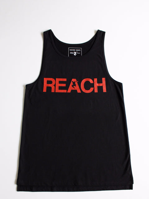 Black REACH/ESCAPE - Infra Red print - parkour tank