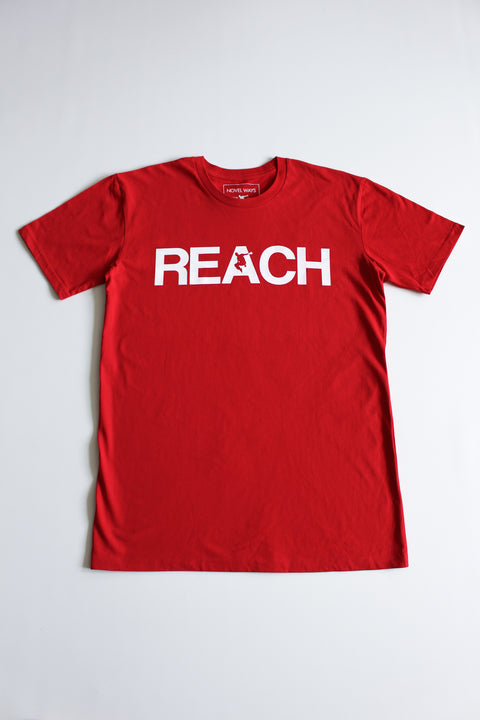 Red REACH/ESCAPE - parkour t-shirt