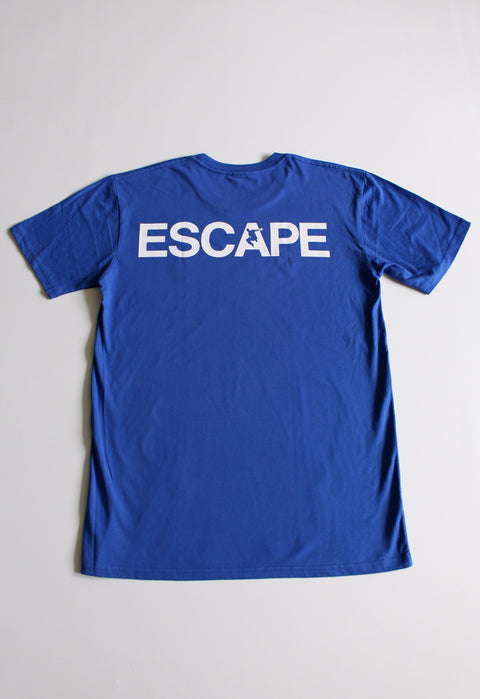 Royal Blue REACH/ESCAPE - parkour t-shirt