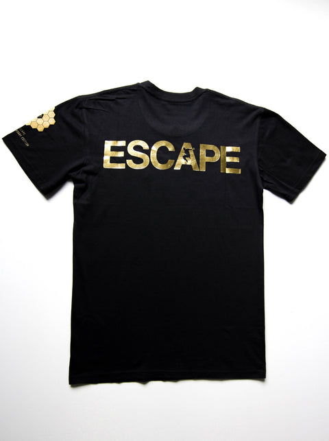 Black - 10 Year Anniversary Edition REACH/ESCAPE - parkour t-shirt