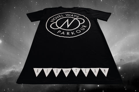 Novel Ways Logo Tall Tee - Black