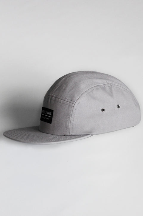 Cool grey 5 panel cap - Buy one, get one FREE!