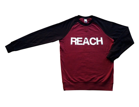 Maroon/Black REACH/ESCAPE Sweatshirt