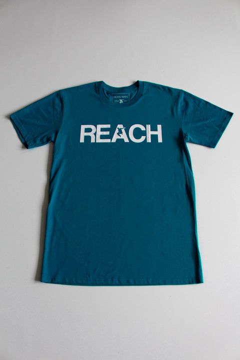 Teal REACH/ESCAPE - parkour t-shirt