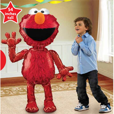 Elmo Air Walker balloon