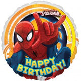 Happy Birthday Spiderman Ultimate Balloon