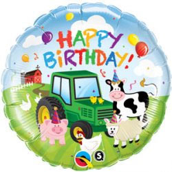 Happy Birthday Farmyard