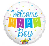 Welcome Baby Boy Balloon