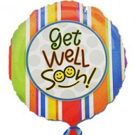 Get Well Soon Stripes