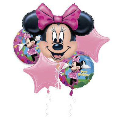 Minnie Mouse Birthday Balloon Gift