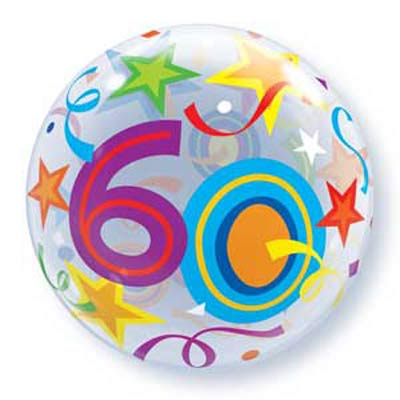 60th Stars Bubble