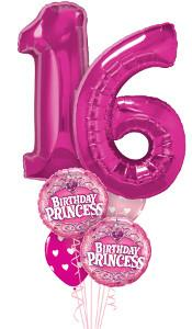 "Birthday Princess ""16"" Balloon Gift"