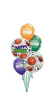 Sports Bubble Balloon Gift