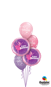 Ballerina Princess Balloon Bouquet