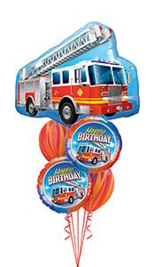 Fire Truck Birthday Gift